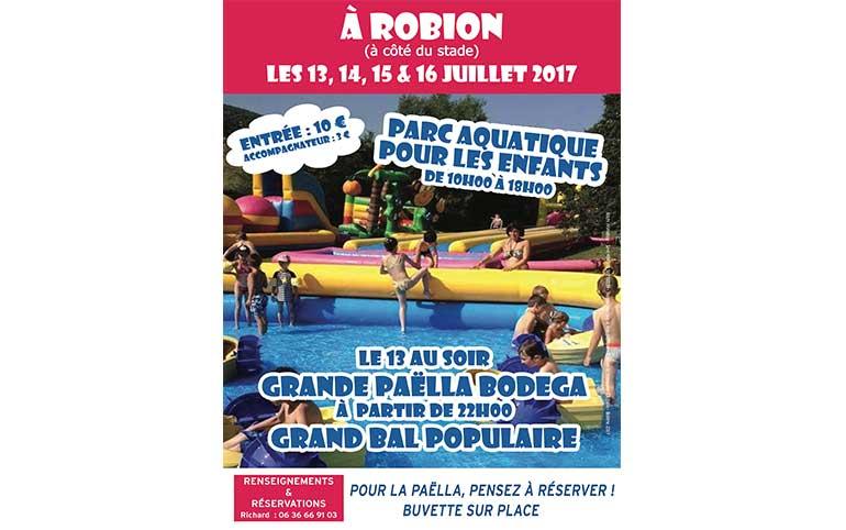 Robion fait appel à Ritchi Animation pour organiser son parc aquatique